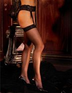 Elegant Moments Stockings & Garterbelt