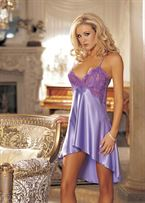 Shirley CHARMEUSE CHEMISE / Small