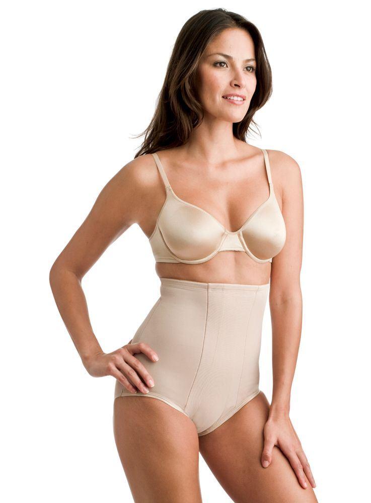 Miraclesuit® Hi-Waist Breif 2705 Beige XL - --: Hudfarvet - Skin/Nude, --: XLarge
