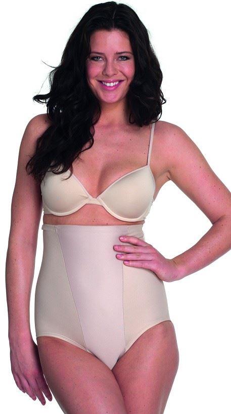 Miraclesuit® 2795 Rigid Front Brief Beige Large - Trusse Størrelse: Large, Farve: Beige