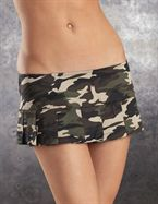 Escante Camouflage Skirt