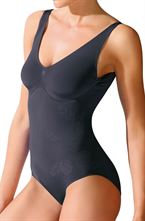Control Body SHAPING Badedragt Sort S/M - L/XL