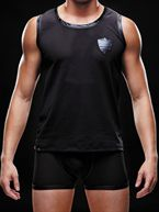 Envy Mens Wear - Athletic Tank Top Black S-XL