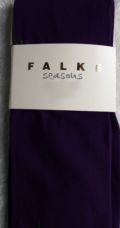 Falke 3/4 model legging i Mørkelilla