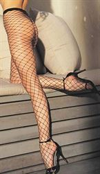 Stretch Big Hole Fishnet Pantyhose Queen Size