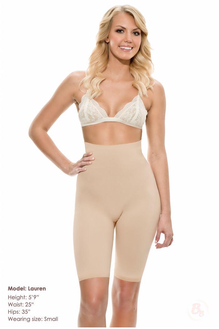 Bubbles Bodywear Shaping Shorts Small - --: Hudfarvet - Skin/Nude, --: Small