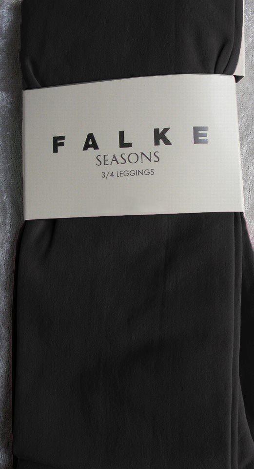 Falke 3/4 model legging i Sort