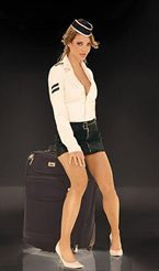 Elegant Moments Airline Stewardess